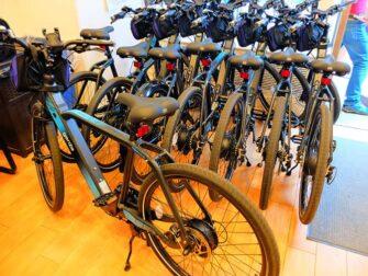 Guidet tur på elcykel i New York - Elcykler
