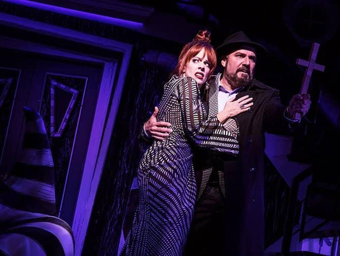Beetlejuice Broadway billetter - Forældrene