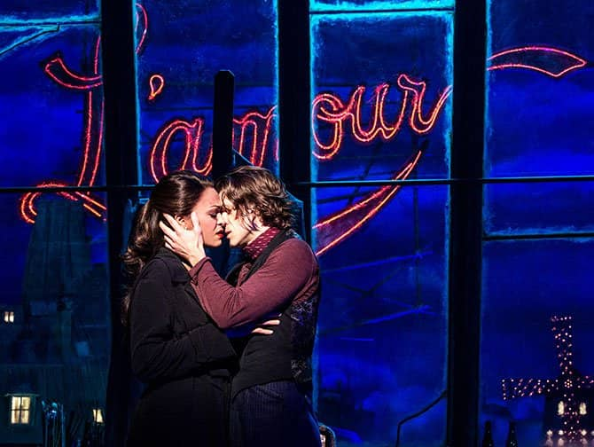 Moulin Rouge! The Musical Broadway billetter - L'amour