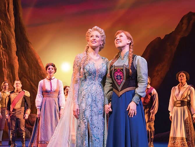Broadway-musicals for børn - Frozen