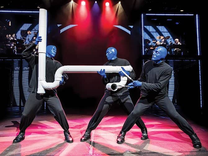 Broadway-musicals for børn - Blue Man Group
