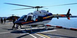 Tag på en helikoptertur