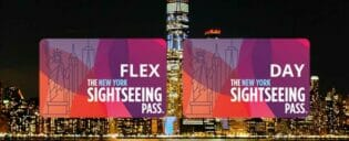 Forskellen på New York Sightseeing Flex Pass og Sightseeing Day Pass
