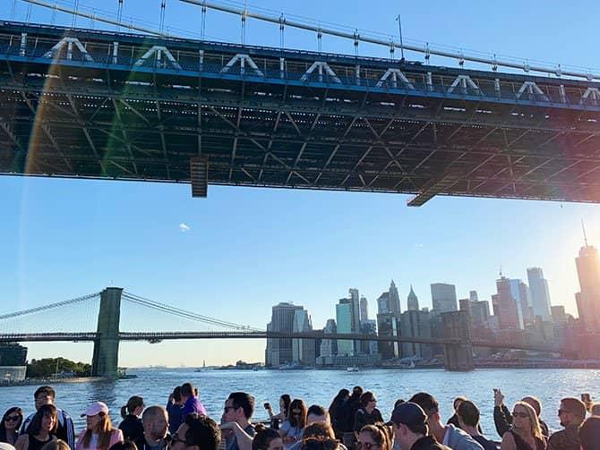 Happy Hour Cruise i New York - Sejltur på East River
