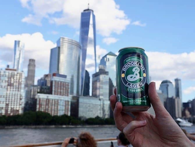 Happy Hour Cruise i New York - Øl