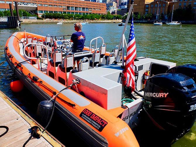 RIB-båd i New York - RIB-båd