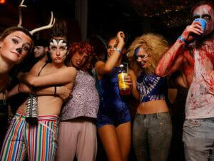 Halloween fester i New York