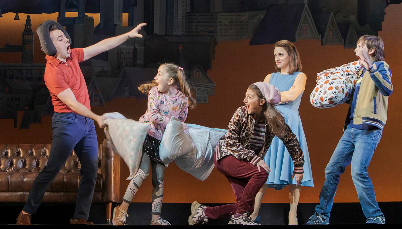 Mrs Doubtfire Broadway billetter - Pudekamp