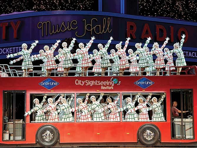Juleshow i New York - Radio City Christmas Spectacular