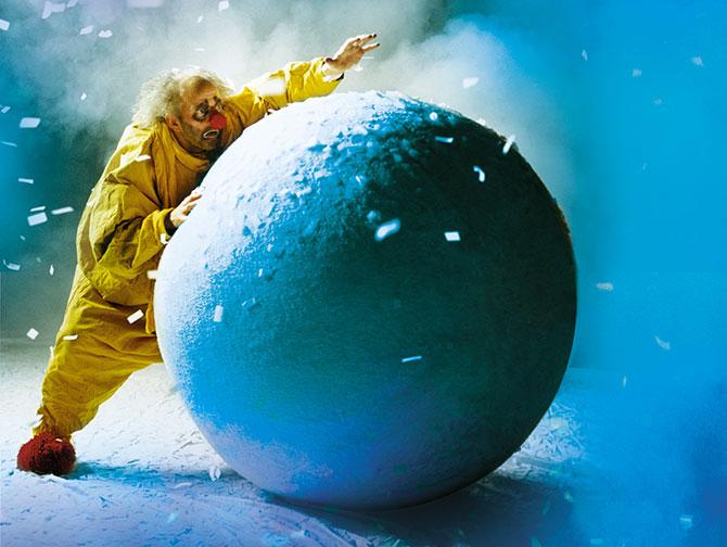 Juleshow i New York - Slava's Snowshow