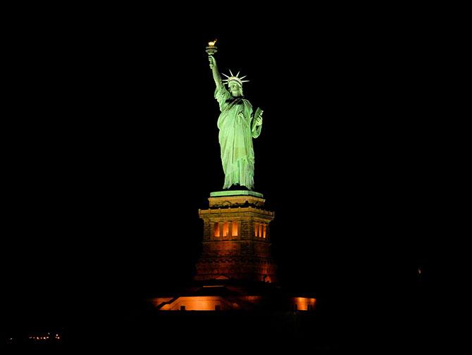 Julehygge-cruise i New York - Frihedsgudinden