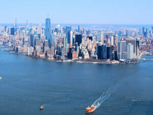 Billige helikopterture over New York