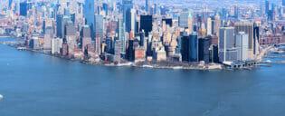 Billige helikopterture over New York