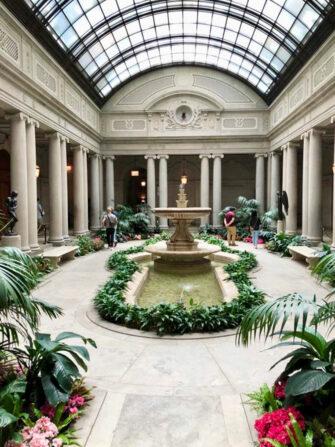 Courtyard Frick Museum New York
