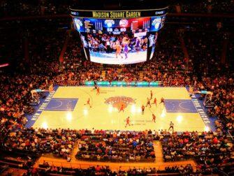 New York Knicks billetter Madison Square Garden