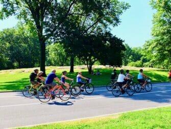 Miljøvenlig rejse til New York - Cykeltur i Central Park