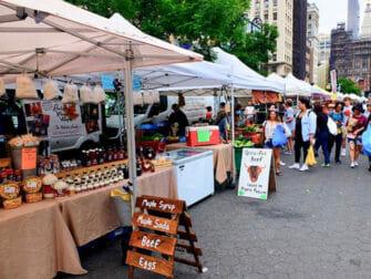 Miljøvenlig rejse til New York - Union Square Greenmarket