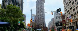 Flatiron Building i New York