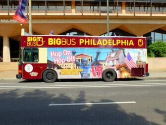 Philadelphia rabatkort til attraktioner - Hop-on-hop-off-bus