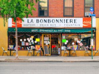 Morgenmad i New York - La Bonbonniere