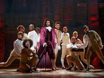 Hamilton on Broadway Tickets The Company