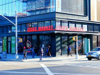 Lower East Side i New York - Essex Market