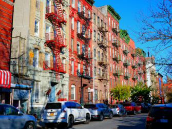 Lower East Side i New York - Brandtrapper