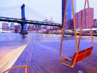 Lower East Side i New York - Pier 35