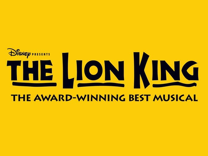 The Lion King Broadway billetter