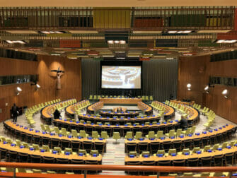 De Forenede Nationer i New York Trusteeship Council Chamber