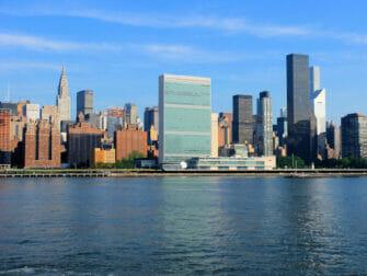 De Forenede Nationer i New York Chrysler Building