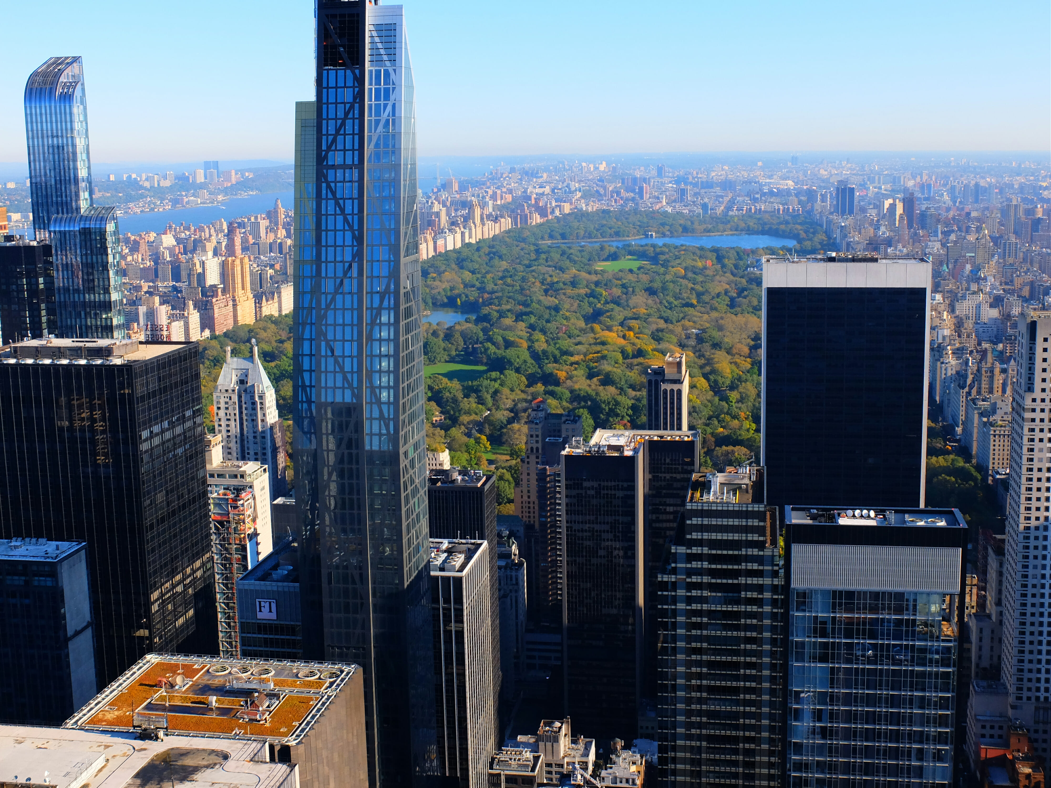 A View from Top of the Rock High Quality Wallpaper 1