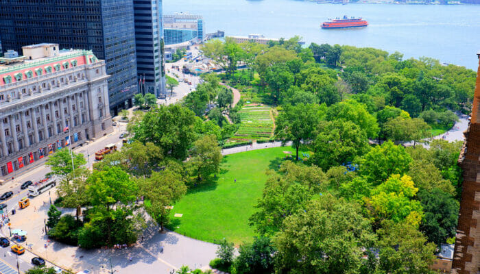 Parker i New York - Battery Park