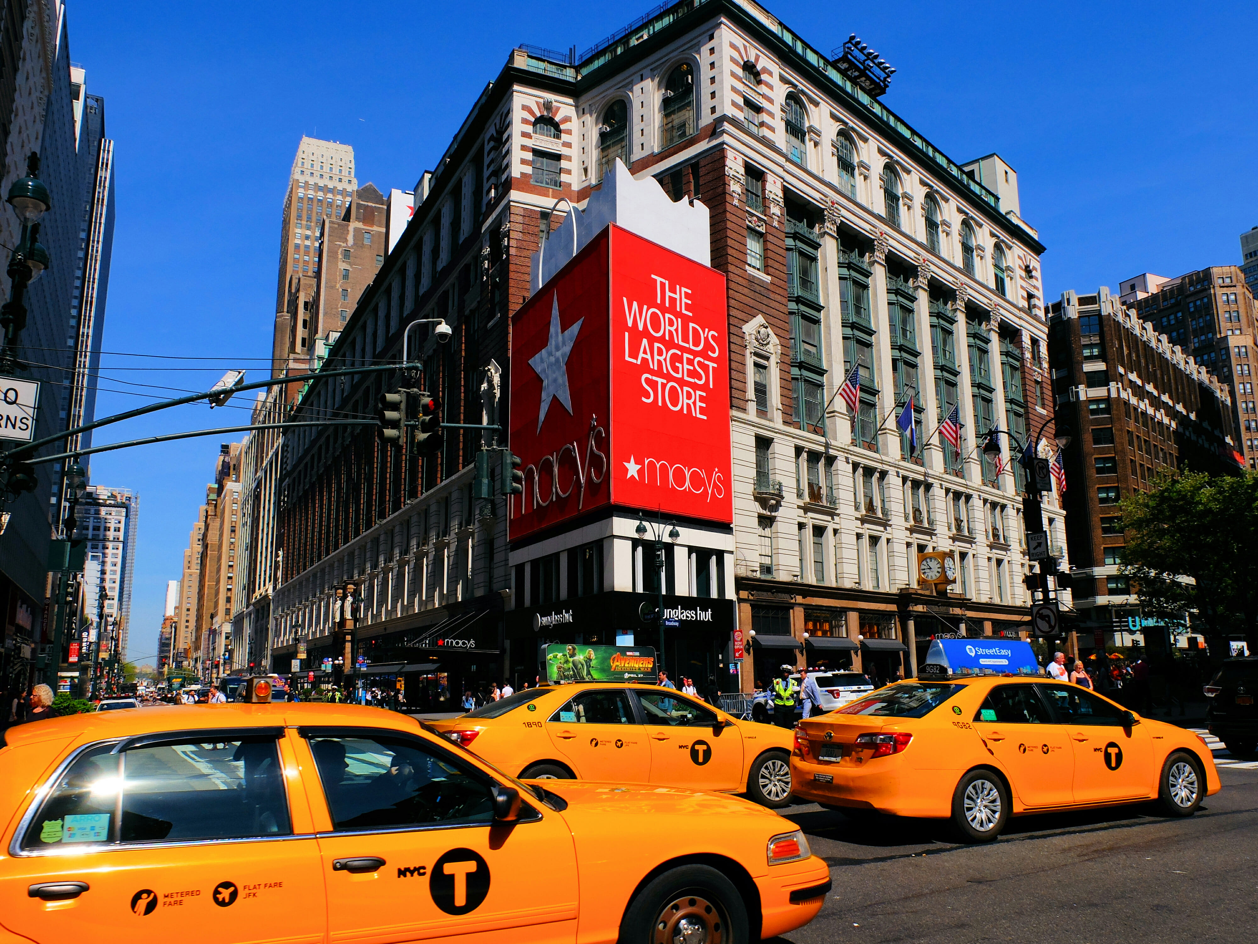 Macys in New York High Quality Wallpaper