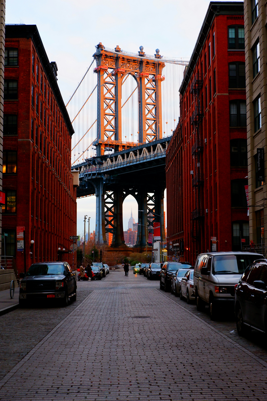 Manhattan Bridge NYC High Quality Wallpaper