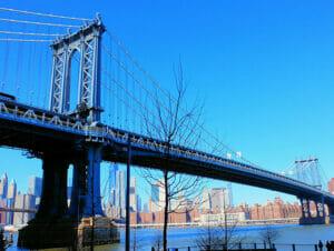 Manhattan Bridge i New York
