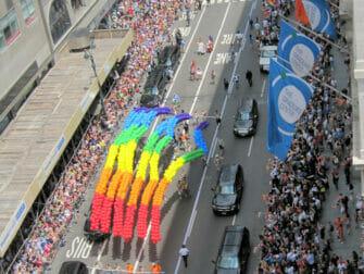 New York Gay Pride - Regnbueflag
