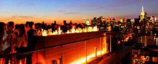 Nattelivet i Uptown og Downtown New York