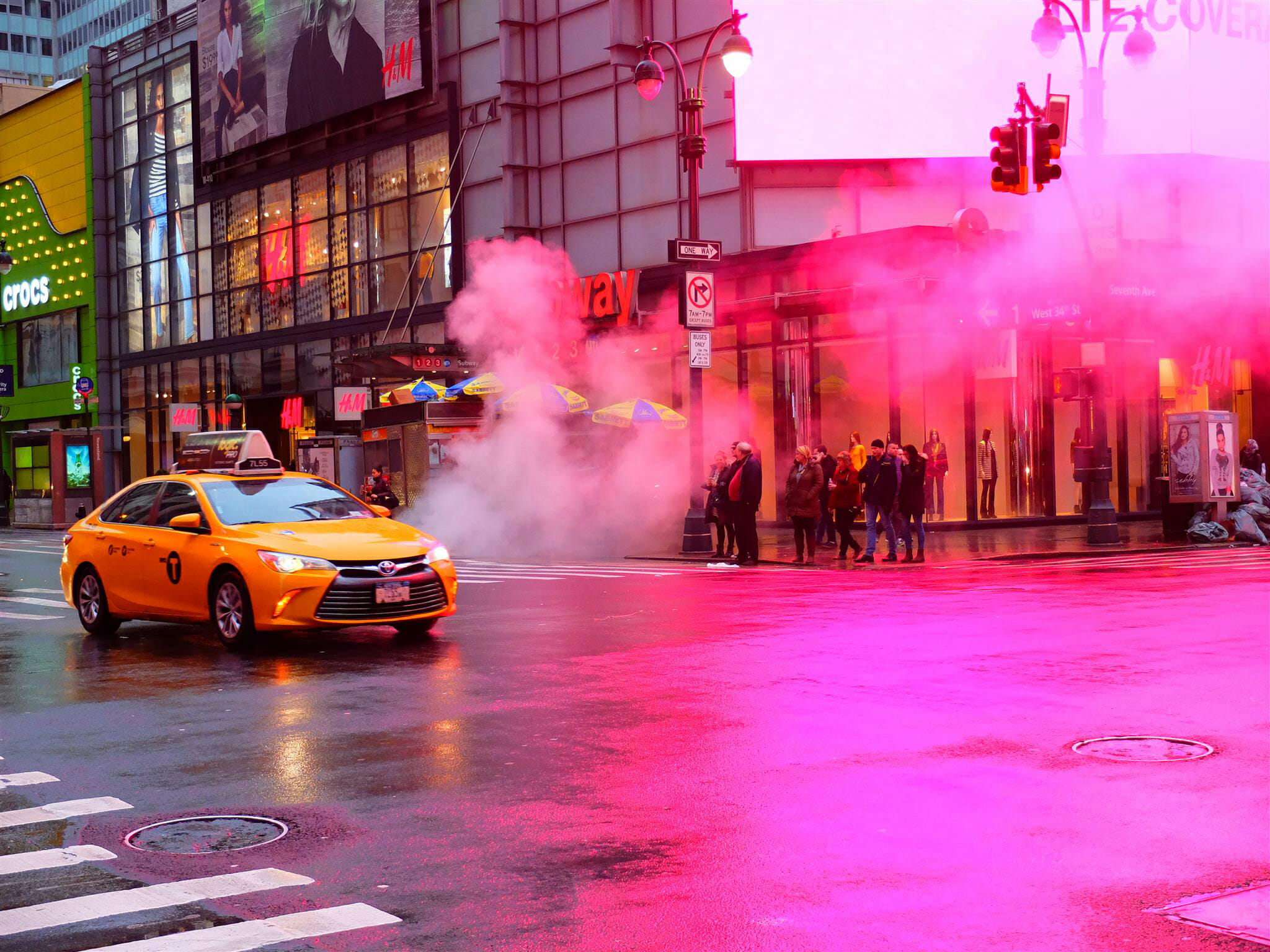 Steam in New York City High Quality Wallpaper