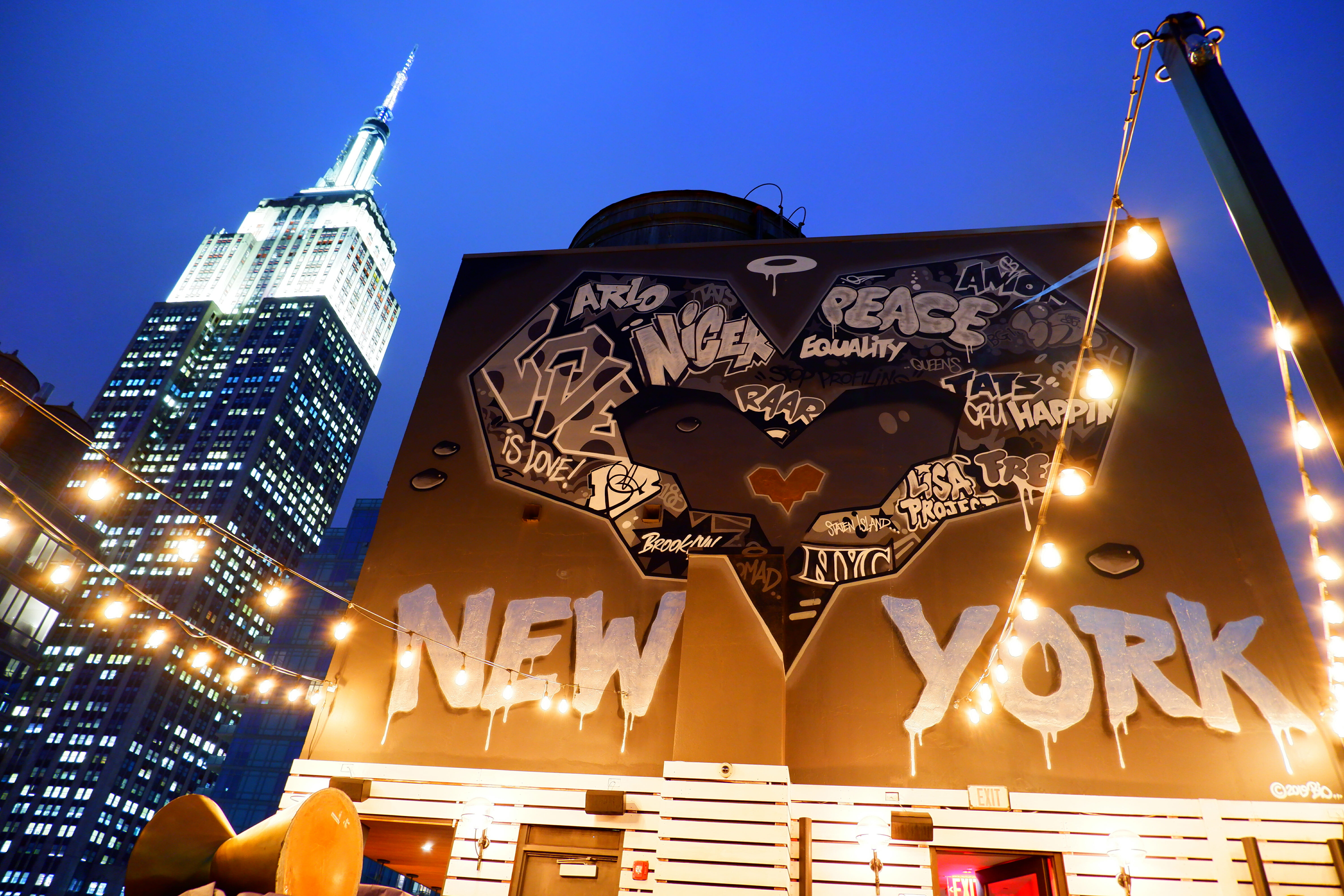 Street Art in NYC High Quality Wallpaper