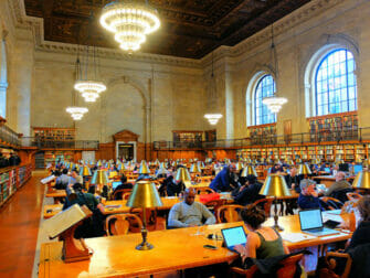 Filmlokationer i New York - Public Library