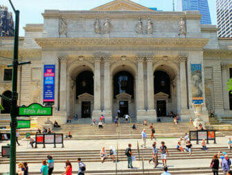 Filmlokationer i New York - The Day After Tomorrow Public Library
