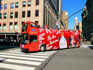 Gray Line hop-on-hop-off-bus i New York