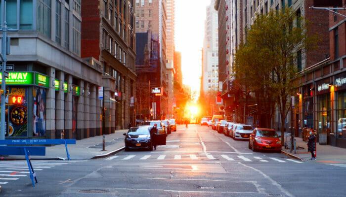 Manhattanhenge - Gade