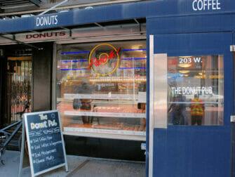 Bedste donuts i New York - The Donut Pub