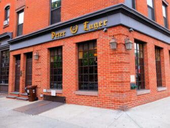 Bedste steakhouse i New York - Peter Luger