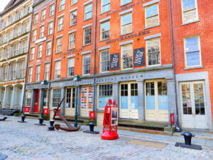 South Street Seaport i New York