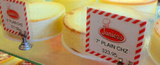 Bedste cheesecake i New York