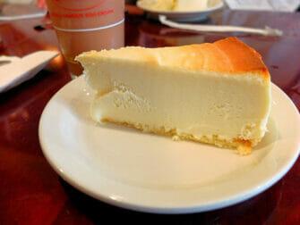 Bedste cheesecake i New York - Junior's