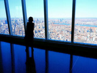New York vaccinerer turister - One World Trade i New York